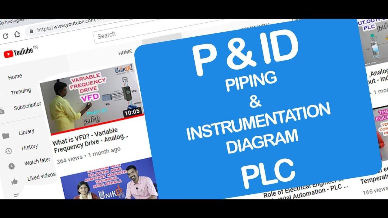 P  U0026 Id - Piping  U0026 Instrumentation Diagram