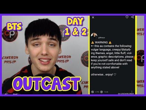 BTS OUTCAST [HORROR AU / FANFIC] DAY 1 & 2 [IM SHAKING]