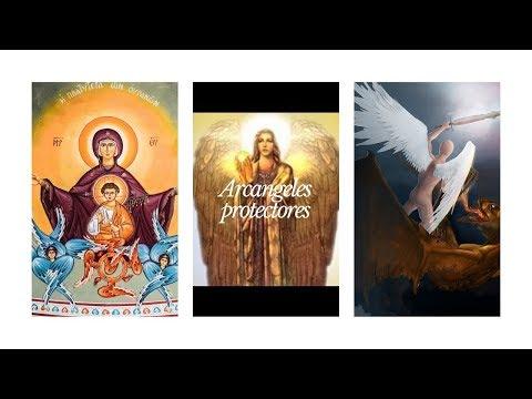Recibe el poder de los Arcangeles utilizando sus colores