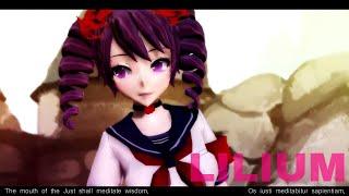 "【MMD | Yandere Simulator】 Elfen Lied Opening ""Lilium"" + Lyrics [Kizana Sunobu]"
