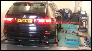 видео Чип тюнинг BMW X5 35d