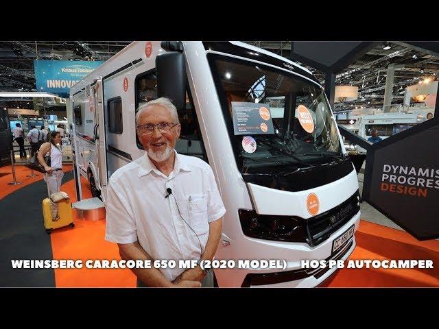 Nyhed: Weinsberg CareCore 650 MF helintegreret autocamper (2020 model)