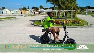 Go Green Fat Wheels E-Scooter !