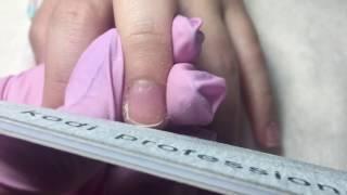 Комбинированный маникюр одной фрезой / Первое видео на YouTube