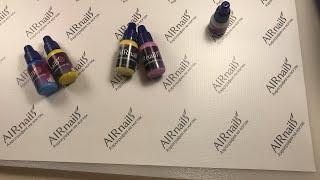 Состав краски для аэрографии на ногтях