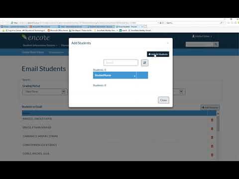 How To Email Your Students From Gradebook