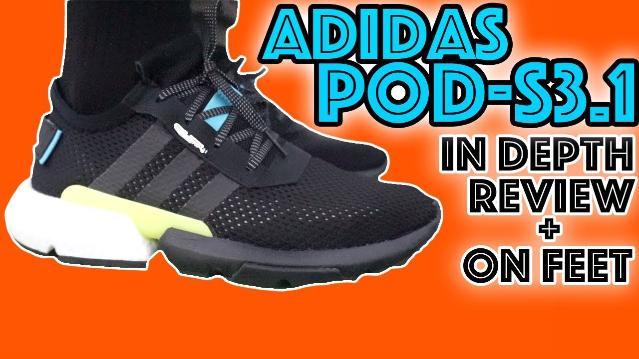 Adidas POD S3.1 Review ON || IN DEPTH  ON Review FEET c14d31