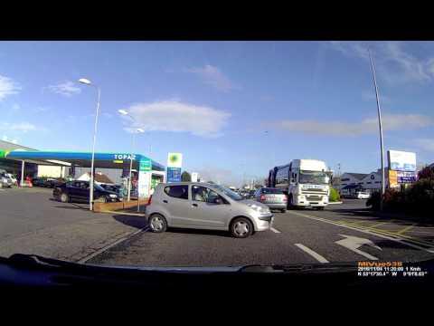 Idiot Drivers Ireland Galway Tuam