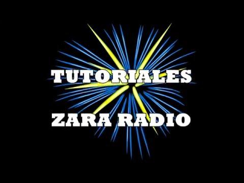 TUTORIAL TONOS DTMF EN ZARA RADIO
