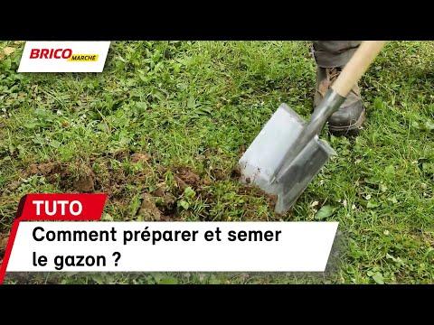 Comment Préparer Et Semer Le Gazon Bricomarché Youtube