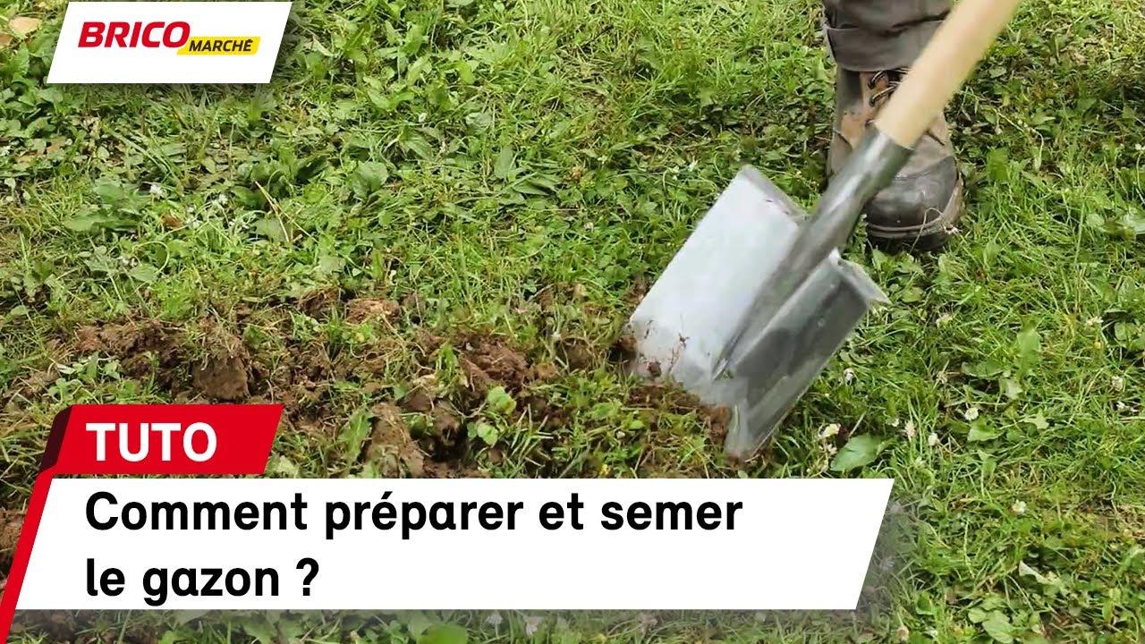 Comment Préparer Et Semer Le Gazon Bricomarché