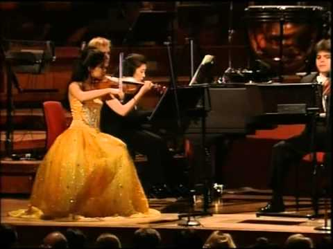 Vanessa Mae - at the Birmingham Symphony Hall 1997 - Classical Violinist.