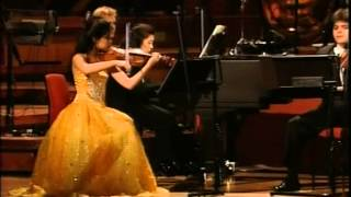 Vanessa Mae - at the Birmingham Symphony Hall 1997 - Classical Violinist. thumbnail
