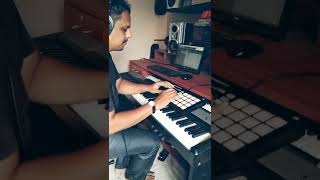 live Looping with Native instruments maschine And Digital Piano | #Shorts