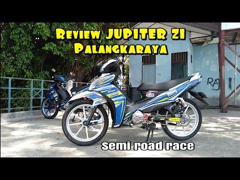 Review Jupiter Z1 Palangkaraya Semi Road Race Youtube