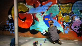 Граффити уроки.Урок четвертый Truba - посторение шрифта.
