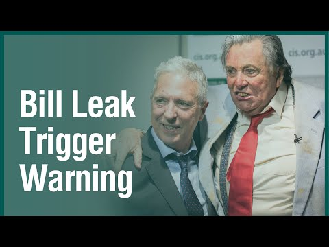 Bill Leak book launch  with Sir Les Patterson