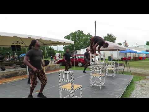 2018 Powhatan County Fair- ZUZU African Acrobats - Video by Rockitz