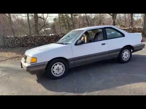 1988 Mercury Topaz Xr5 Ford Tempo