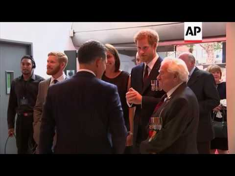 Prince Harry attends UK premiere of 'Dunkirk'