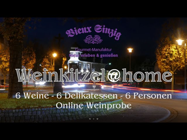 Weinkitzel @ Home am 25. Juli 2020