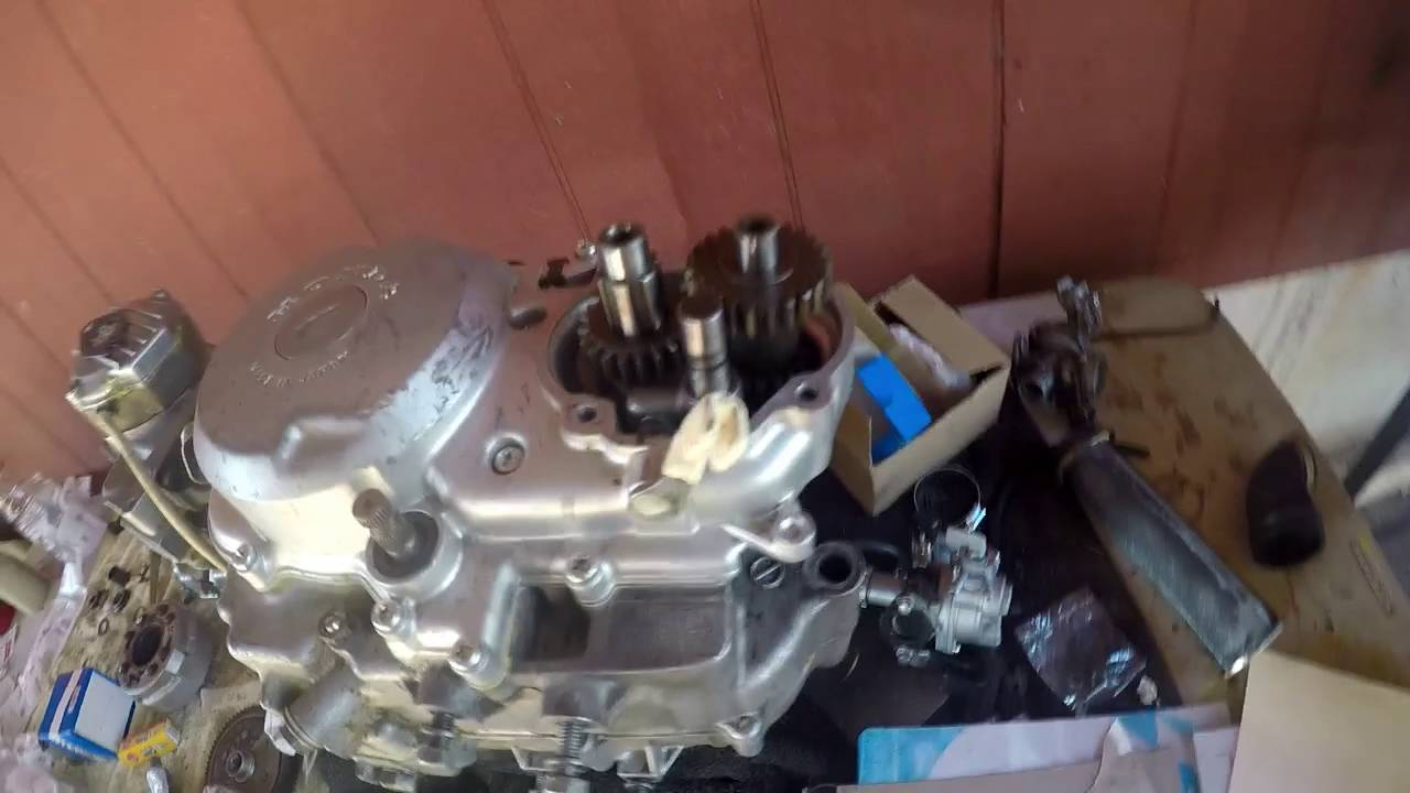 Honda Ct110 Rebuild Part 25 Assembling The Sub Transmission Ct90 Wiring Diagram Shane Mouton