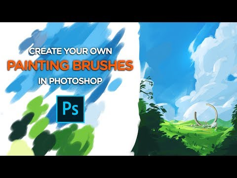 Create Your Own PAINTING BRUSHES - Photoshop Tutorial