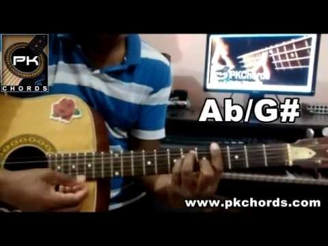 Baaton Ko Teri-Arijit Singh-All is well-Guitar Chords Lesson-PKChords