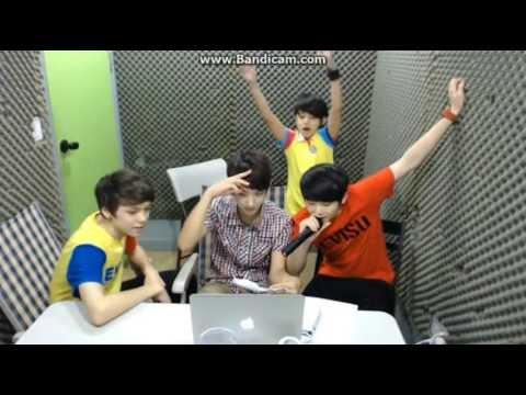 [062013] Hansol, Jisoo, Samuel and Jihoon - Give me everything (Practice)