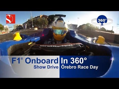 360° - F1 Show Drive with Marcus Ericsson - Örebro Race Day - Sauber F1 Team