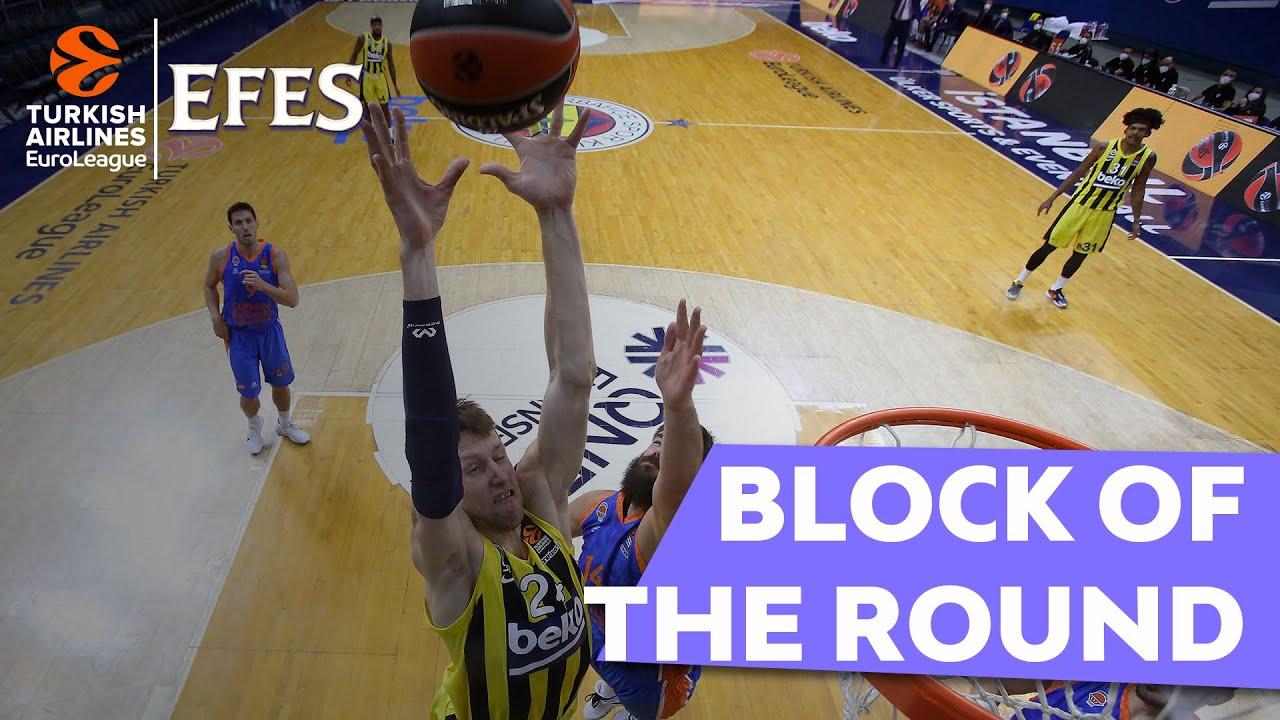 EuroLeague'de haftanın bloğu: Jan Vesely, Fenerbahce Beko Videosu