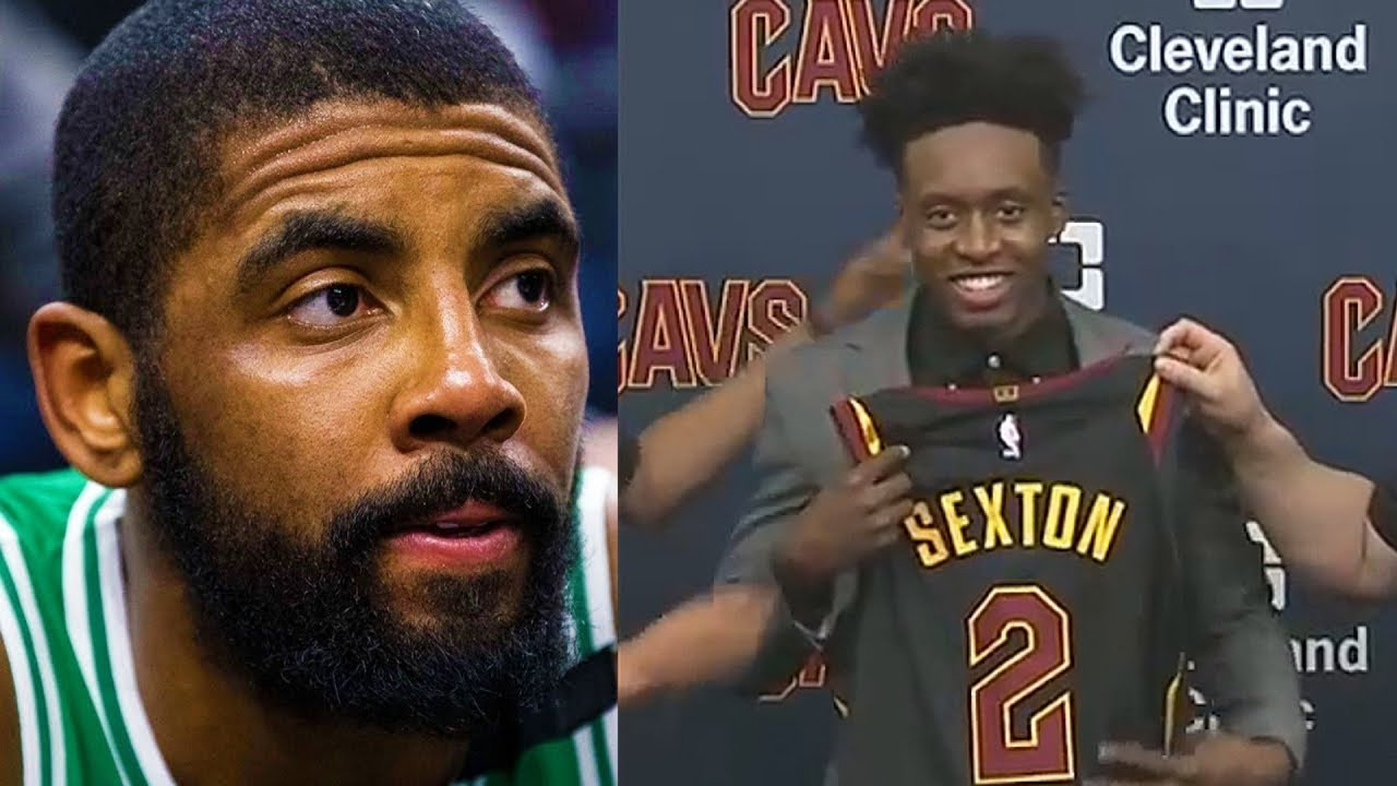huge discount 98a19 9dc56 Kyrie Irving Dissed By Cavaliers! Cavs Give Collin Sexton His Jersey Number!