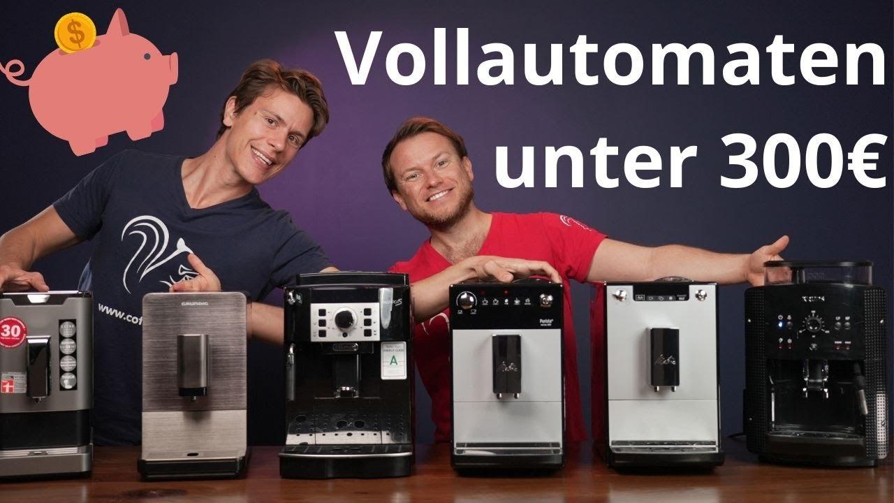 Welcher ist der beste günstige Kaffeevollautomat unter 300