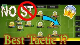 Best Tactic In Top Eleven 2021 Top Eleven Tactic Analysis Youtube
