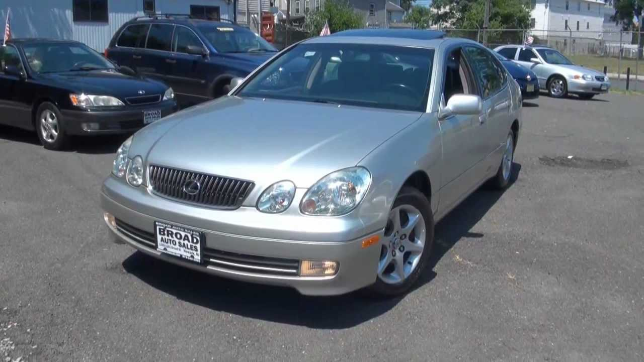 Gs Auto Sales >> 2003 Lexus GS300 Vehicle Review Broad Auto Sales - YouTube