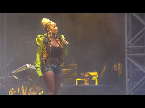Mary J Blige Concert at Kew The Music - Kew Gardens London July 17
