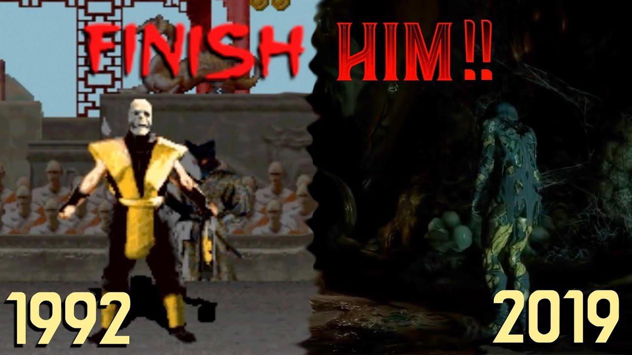 "Download The Evolution of Mortal Kombat's ""Finish Him!"" (1992 - 2019)"