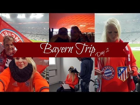MY MUNICH VLOG | DAY 2 - INTERVIEW,  BAYERN VS ATLETICO, ALLIANZ ARENA...