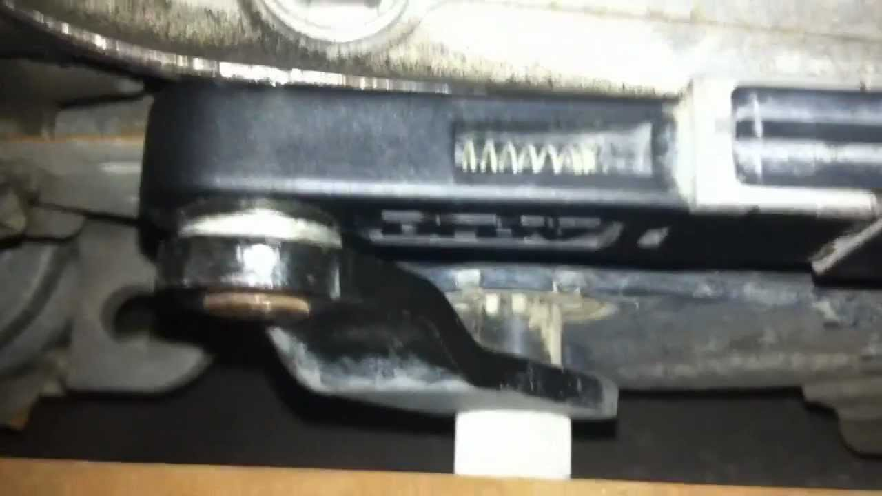 how to fix your trailblazer s 2003 2005 shift linkage bushing youtube [ 1280 x 720 Pixel ]