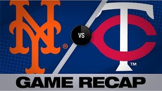 Conforto collects 4 hits in Mets' 3-2 win | Mets-Twins Game Highlights 7/16/19