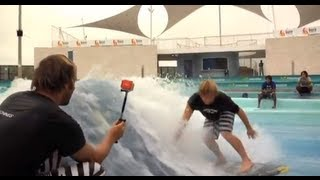 Surf Stream Wave Pool and Body Glove Surf Team...