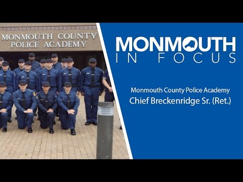 Monmouth County Police Academy programs and training