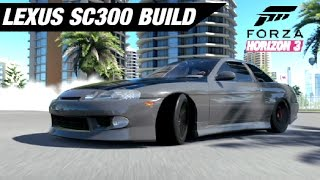 SLAMMED SC300 Drift Build - Forza Horizon 3