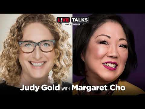 Judy Gold in conversation with Margaret Cho at Live Talks Los Angeles