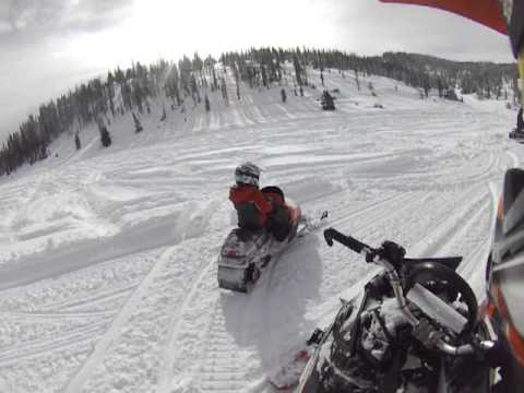 Cody Riding is new 120 snowmobile