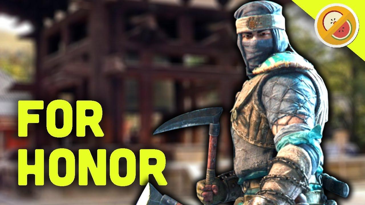 NEW FIGHTER SHINOBI! - For Honor Gameplay