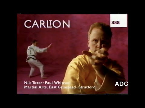 Carlton TV  - Carlton weather, adverts trailers & link announcer Mark Lipscomb 2nd January 1995