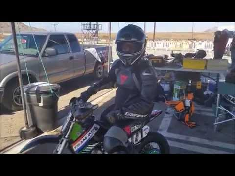 Tomahawk moped racing Aout 2015 Circuit APEX                       Californie