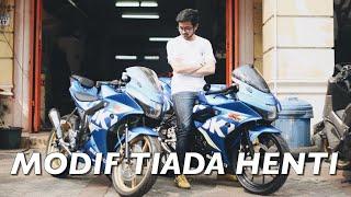MODIF TERUS, PASANG QUICKSHIFTER DI 150cc - Suzuki GSX-R150 #motovlog