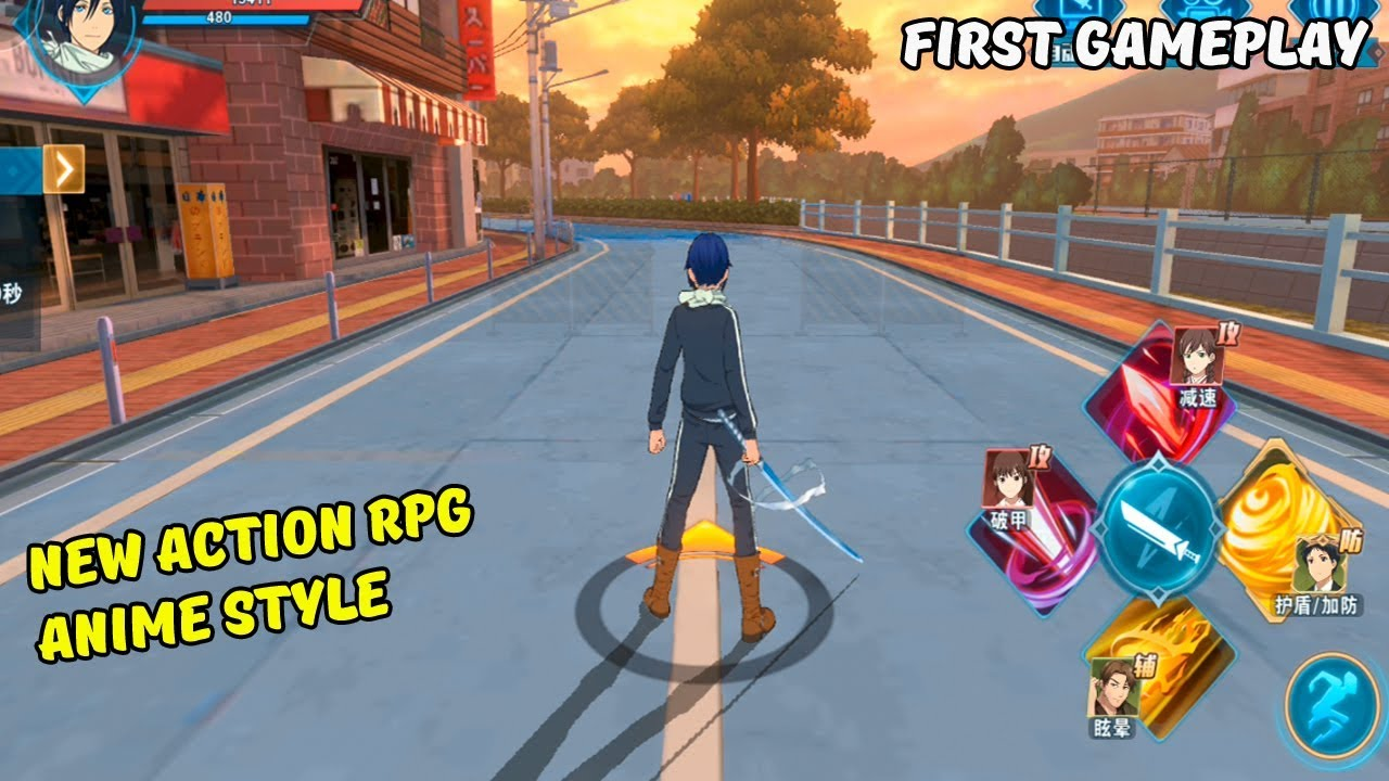 Noragami Aragoto Android Gameplay New Action RPG Anime Style (CBT) - YouTube
